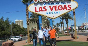 Ik in Las Vegas (2e van rechts)