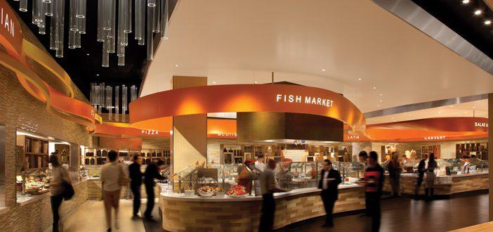 ARIA buffet Las Vegas