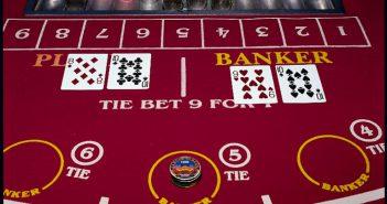 Baccarat Las Vegas speelveld