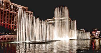 Bellagio fonteinen Las Vegas