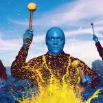 Blue Man Group show Las Vegas