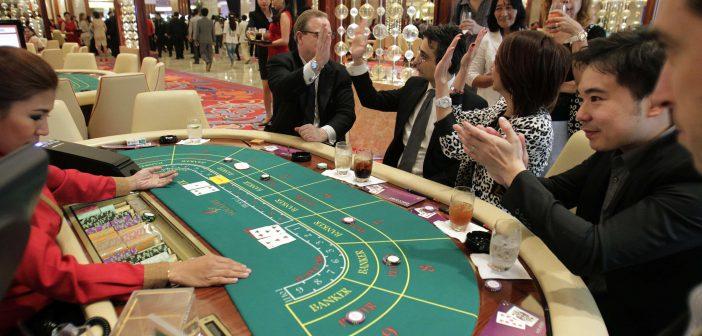 Baccarat spelen in Las Vegas