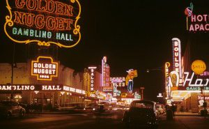Downtown Las Vegas in 1952