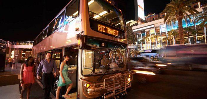 De bus nemen in Las Vegas