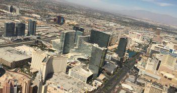De Las Vegas Strip bij dag
