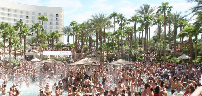 Las Vegas zwembad - poolparties