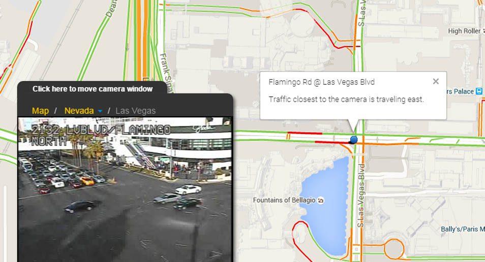 5. Las Vegas verkeerscamera's
