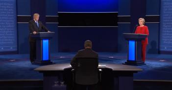 Trump - Clinton debat - © YouTube