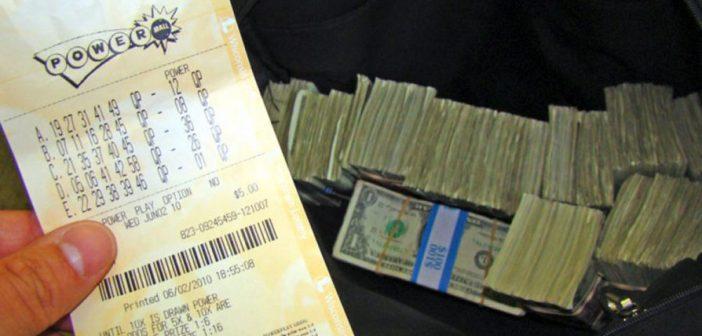 Powerball loterij trekking Verenigde Staten