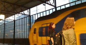 Trein naar Schiphol