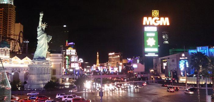 De Las Vegas Strip maart 2017