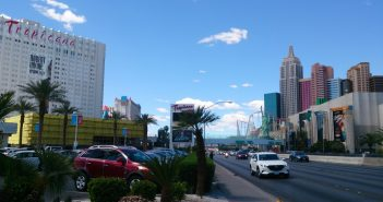 Wandelen op de Las Vegas Strip