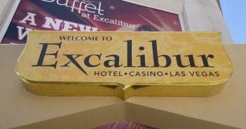 Welkom bij Excalibur Las Vegas