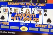 Opeenvolgende Royal Flush Las Vegas