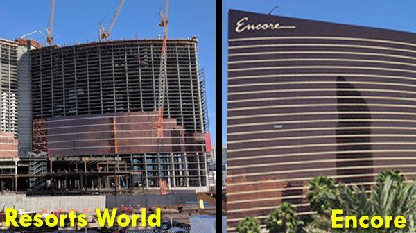 Vergelijking Resorts World en Wynn / Encore Las Vegas