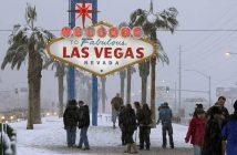 Las Vegas sneeuw 2019